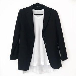 Black Theory Boyfriend Style Blazer Jacket