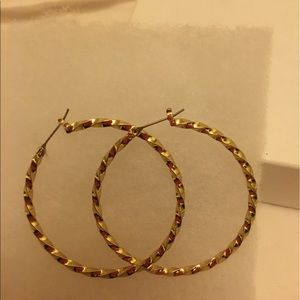 Planet Gold Jewelry - Round hoops