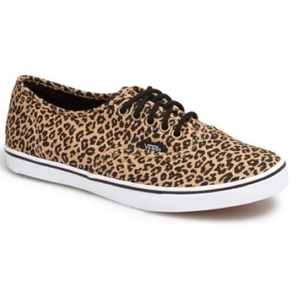 37923e93aac50d Women s Vans Authentic Lo Pro Leopard Sneaker. M 5908eb194e8d17119f010e9f