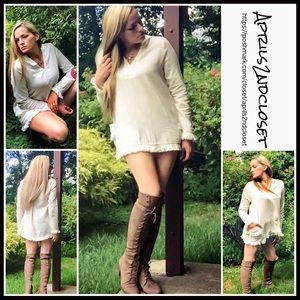 PONCHO TUNIC Hoodie Pullover