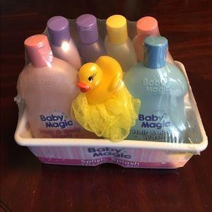 New Baby Magic gift set 🛀