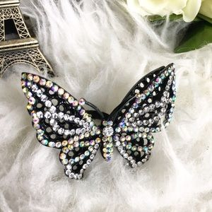 Jewelry - Flutter Butterfly statement ring rhinestones