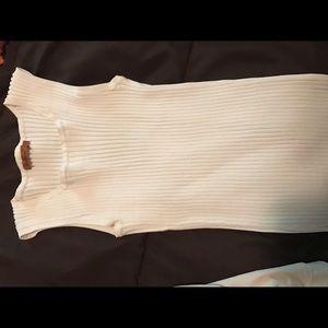 Belldini Tops - White dress tank top