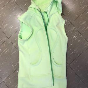 lululemon athletica Jackets & Blazers - Lululemon neon vest