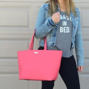 Vibrant Pink Kate Spade Tote