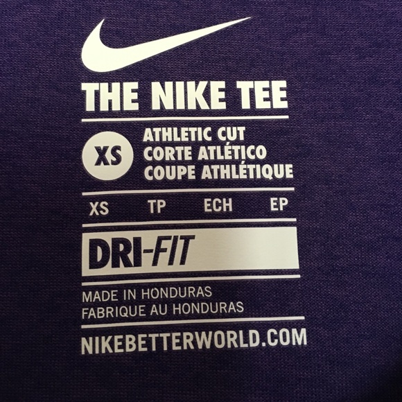 nike tee athletic cut