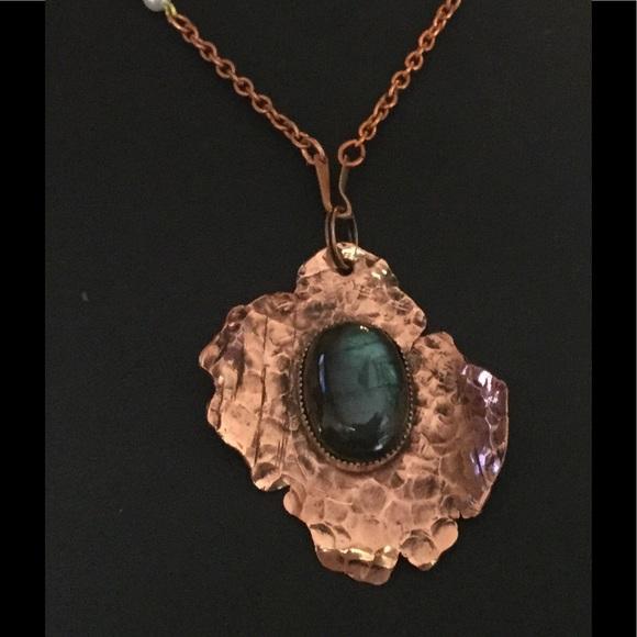 Handmade By Hm Simon Jewelry Handmade Copper Labradorite