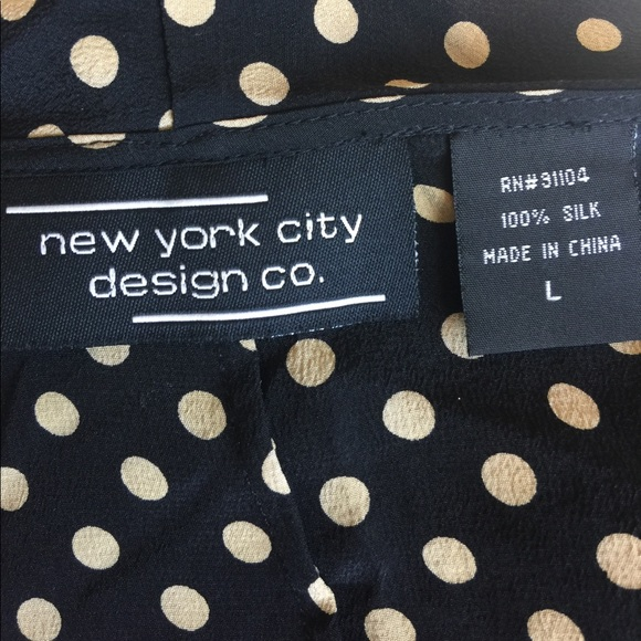 51 off new york city design co tops dressy polka dot
