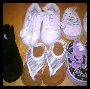 Other - Lot of size four baby shoes