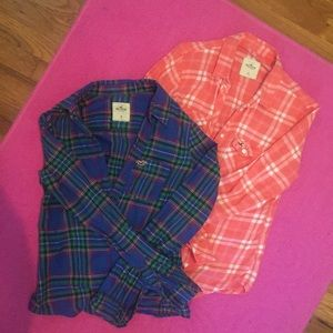 SOLD ❄️HOLLISTER FLANEL BUNDLE❄️