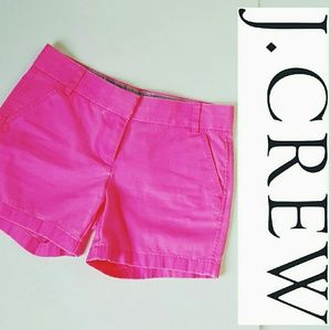 J. Crew Pants - New with tags! J. Crew pink chino shorts!