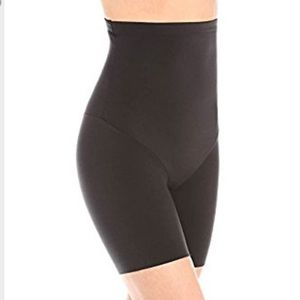 Maidenform Other - New black high waist shaping shorts