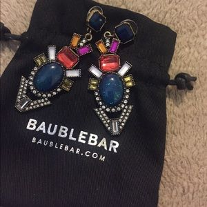 Bauble Bar statement earrings