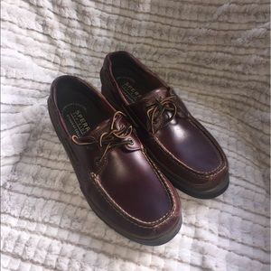 Sperry Other - Sperry Stingray Collection Brown Leather EUC