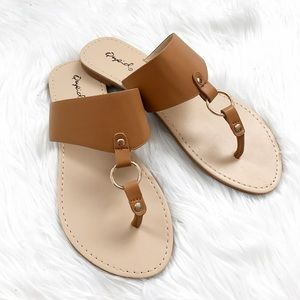 Shoes - Casual Camel Sandals