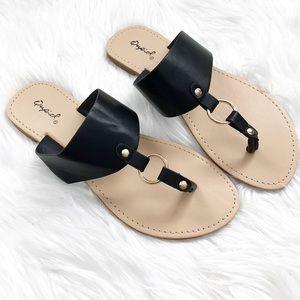 Shoes - Black Casual Sandals