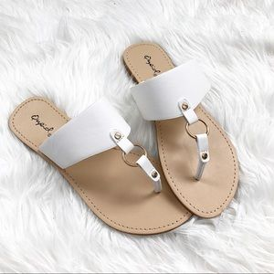 Shoes - White Casual Sandals