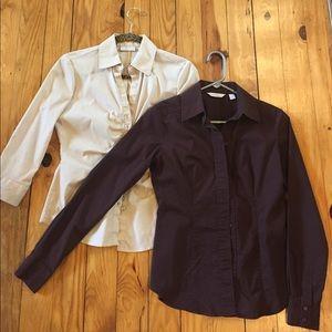 New York & Company Tops - 2 NY&C Dress Shirts!