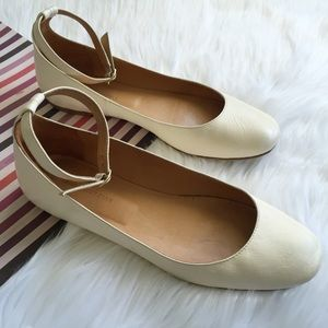 Isabel Marant Shoes - Isabel Marant Etoile Lili Ankle Strap Ballet Flats