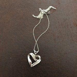 Kay Jewelers Jewelry - Heart Diamond Necklace