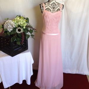 JS Boutique Dresses & Skirts - Elegant Embroidered/Beaded Bodice Dress