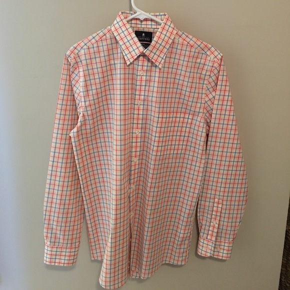 67 off stafford other nwot men 39 s fitted stafford button for Where to buy stafford dress shirts