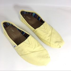 TOMS Shoes - Toms Classic Canvas Flats Butter Yellow