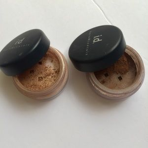 bareMinerals Other - LOT of 2 bare minerals eye shadows