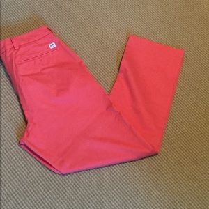Southern Tide Channel Marker Coral Khakis