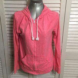Pink Lightweight Jacket with Hood