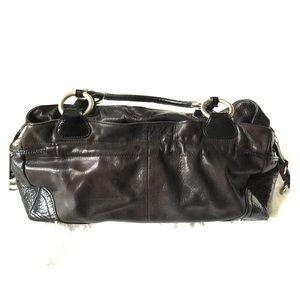 Perlina Handbags - Perlina leather satchel