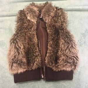Starting Out Other - 12 month fur vest