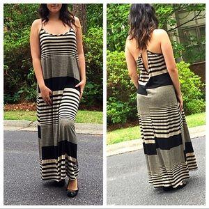 Dresses & Skirts - 🆕 striped maxi dress