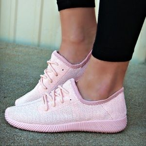 Shoes - 🆕CHRISSIE-MARIE comfy sneaks - PINK