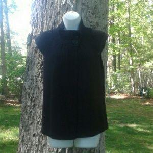 august silk Sweaters - *FINAL PRICE* Black Button Up Cardigan Medium