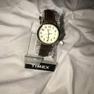 Timex Accessories - Timex watch leather band gold