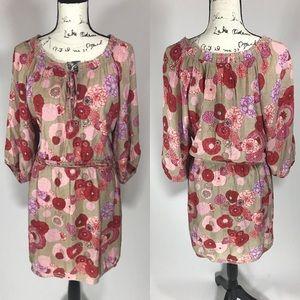 Chelsea & Violet Dresses & Skirts - Chelsea & Violet 60s Floral Long Sleeve Dress