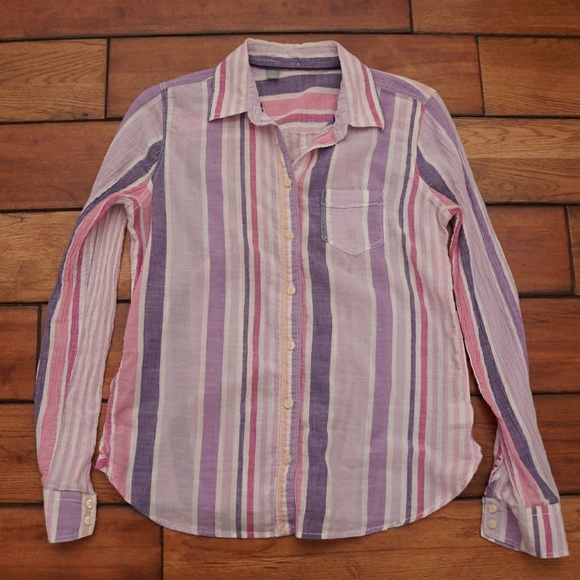 79 off jcpenney tops jcpenny gauze button down from for Gauze button down shirt