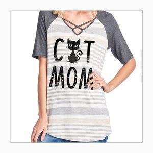 Tops - Cat Mom Top