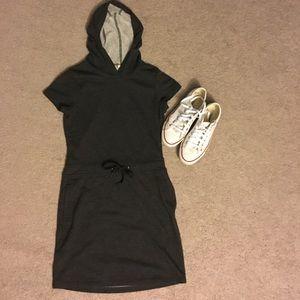 Dresses & Skirts - Cute cotton grey hoodie dress