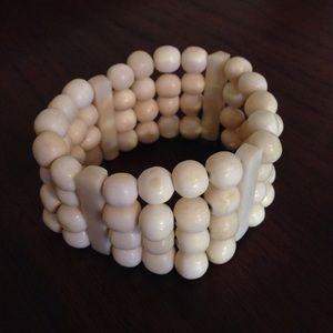 Jewelry - White bone bracelet