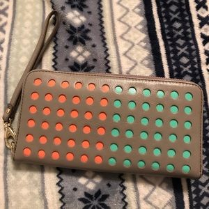 Fossil Handbags - Fossil Sydney Perforated Wallet