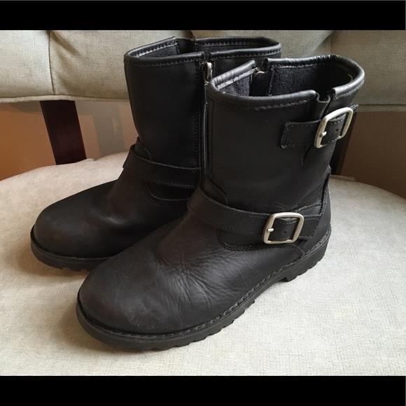 272bf895e08 Kids UGG Harwell biker boots size 3