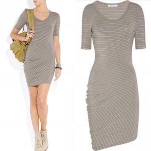 T by Alexander Wang Dresses & Skirts - T by Alexander Wang asymmetric striped dress XS