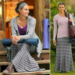 Athleta Stripe Splendor Maxi Skirt