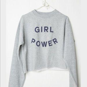 "Brandy Melville Tops - Brandy Melville ""Girl Power"" sweater"