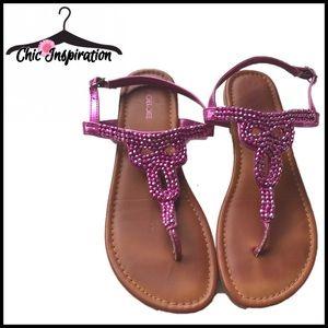 Cherokee Shoes - 🌸5/$25 SALE🌸 Cherokee Beaded Sandals