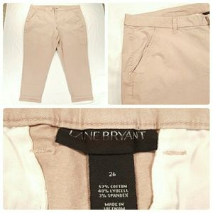 New Lane Bryant Khaki Pants Size 26 Business