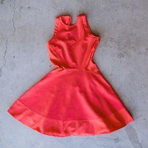 TED BAKER Red Swing Dress