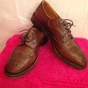 Tricker's Other - Men's size 10 brown dress shoes